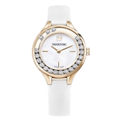 Swarovski Lovely Crystals White & Gold Watch