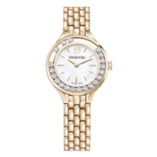 Swarovski Lovely Crystals Rose Gold Bracelet Watch