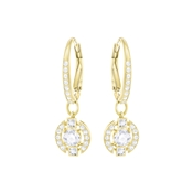 Swarovski Dancing Crystal Gold Earrings