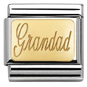 Nomination Gold Grandad Charm