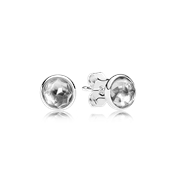 Pandora April Droplets Earrings