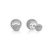 PANDORA Reversible Pavé Drop Earrings