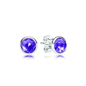 PANDORA February Droplets Earrings