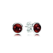 Pandora January Droplets Earrings