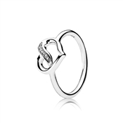 PANDORA Ribbons of Love Ring