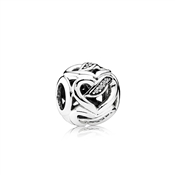 PANDORA Ribbons of Love Charm