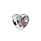 PANDORA Struck by Love Charm