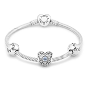 PANDORA March Birthstone  Bracelet