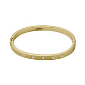 Pilgrim Gold Crystal Bangle