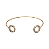 Pilgrim Rose Gold Cuff Bangle