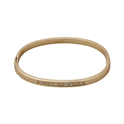 Pilgrim Rose Gold Crystal Bangle