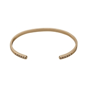 Pilgrim Open Rose Gold Bangle