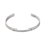 Pilgrim Silver Ariana Bangle