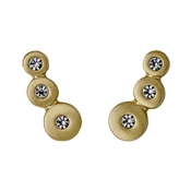 Pilgrim Gold Dot Earrings