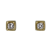 Pilgrim Gold Sophy Crystal Earrings