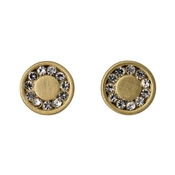 Pilgrim Gold Nelly Disc Earrings