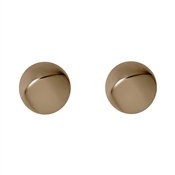 Pilgrim Rose Gold Manuela Disc Earrings