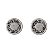 Pilgrim Silver Nelly Disc Earrings