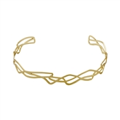 Pilgrim Gold Illy Choker Necklace