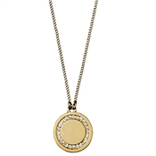 Pilgrim Gold Nelly Disc Necklace