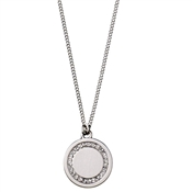 Pilgrim Silver Nelly Disc Necklace