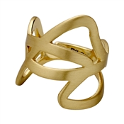 Pilgrim Gold Illy Abstract Ring