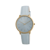 Pilgrim Sky Blue & Gold Watch