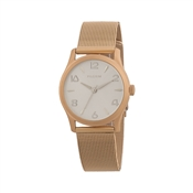 Pilgrim Rose Gold Mesh Watch