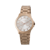 Pilgrim Rose Gold Chronograph Bracelet Watch