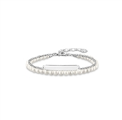 Thomas Sabo Pearl Love Bridge Bracelet