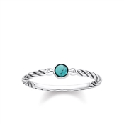 Thomas Sabo Turquoise & Diamond Ring