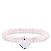 Thomas Sabo Rose Quartz Love Bridge Bracelet