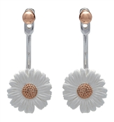 Olivia Burton Rose Gold Daisy Ear Jackets