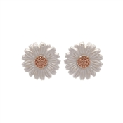 Olivia Burton Rose Gold Daisy Stud Earrings