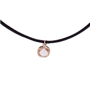August Woods Pink Crystal Choker