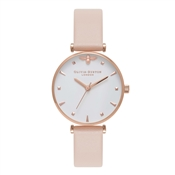 Olivia Burton Queen Bee Nude Peach Watch