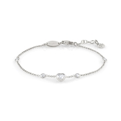 Nomination Silver Bella Heart Bracelet
