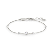 Nomination Silver Bella Crystal Bracelet