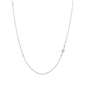 Nomination Rose Gold Bella Long Heart Necklace