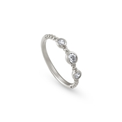 Nomination Silver Bella Crystal Ring