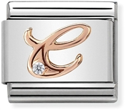 Nomination Rose Gold Letter C Charm