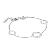 Nomination Silver Unica Circle Bracelet