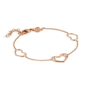 Nomination Rose Gold Unica Heart Bracelet