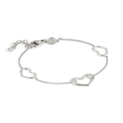 Nomination Silver Unica Heart Bracelet