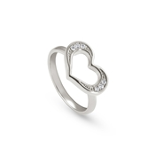 Nomination Silver Unica Heart Ring