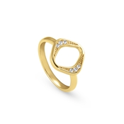Nomination Gold Unica Rhombus Ring