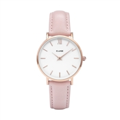 CLUSE Minuit Pink & Rose Gold Watch