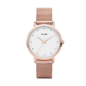 CLUSE Pavane Rose Gold Mesh Watch