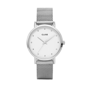 CLUSE Pavane Silver Mesh Watch