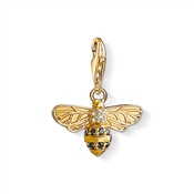 Thomas Sabo Gold Bumble Bee Charm